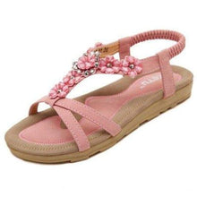 Load image into Gallery viewer, Bohemian Fashion Sandals - Pink / 4.5 - Sandals