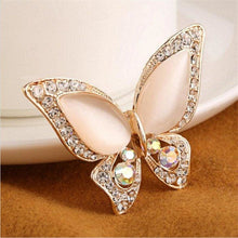 Load image into Gallery viewer, Butterfly Brooch Jewelry Gift - White - Jewelry