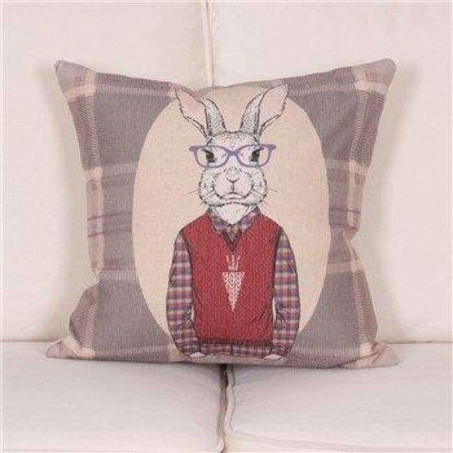Cartoon Animal Decorative Pillow Covers - 450Mm*450Mm / 1 - Pillow Case