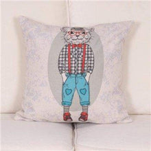 Load image into Gallery viewer, Cartoon Animal Decorative Pillow Covers - 450Mm*450Mm / 2 - Pillow Case