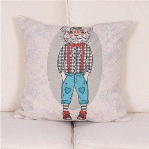 Cartoon Animal Decorative Pillow Covers - 450Mm*450Mm / 2 - Pillow Case