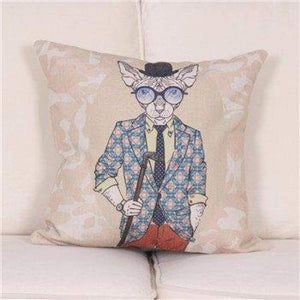Cartoon Animal Decorative Pillow Covers - 450Mm*450Mm / 3 - Pillow Case