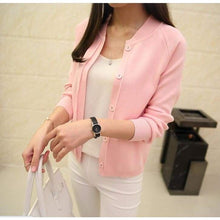 Load image into Gallery viewer, Casual Spring/autumn Cardigan - Pink / S - Cardigan