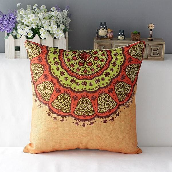Colorful Decorative Pillow - 1 / 45x45cm - pillowcase