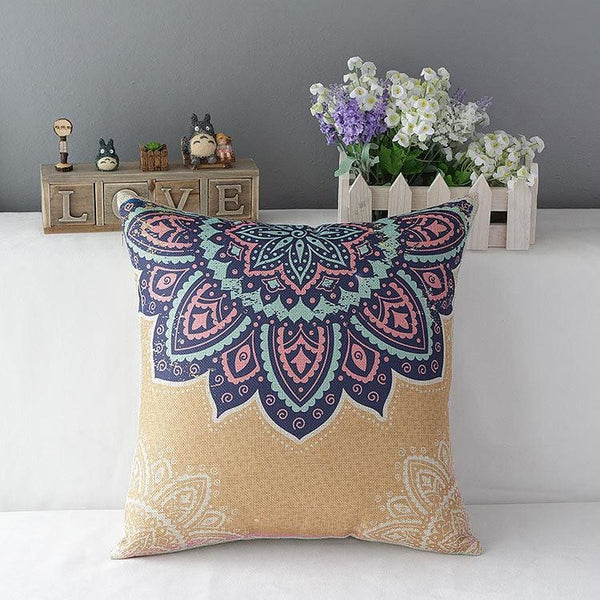 Colorful Decorative Pillow - 2 / 45x45cm - pillowcase