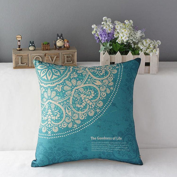 Colorful Decorative Pillow - 3 / 45x45cm - pillowcase