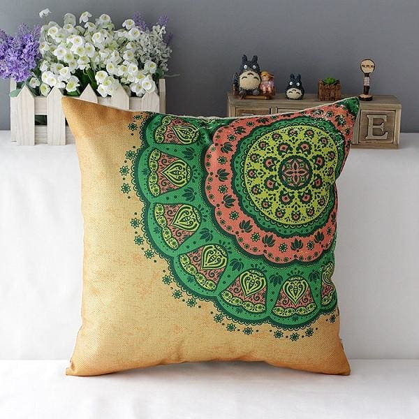 Colorful Decorative Pillow - 4 / 45x45cm - pillowcase