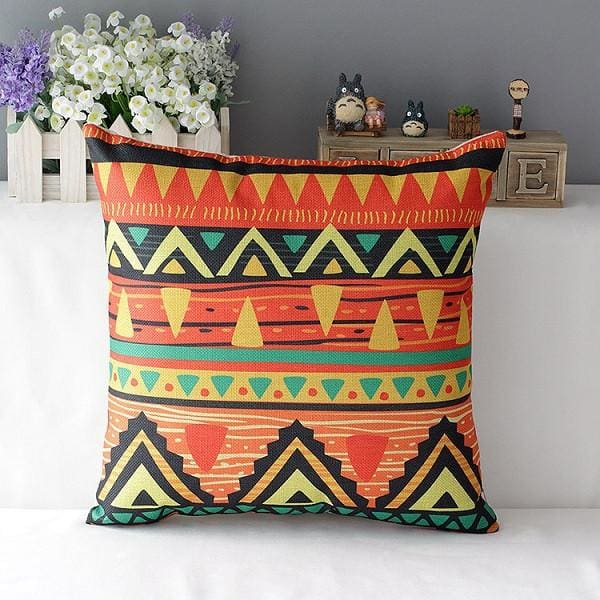 Colorful Decorative Pillow - 5 / 45x45cm - pillowcase