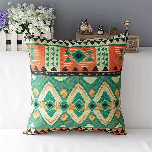 Colorful Decorative Pillow - 7 / 45x45cm - pillowcase