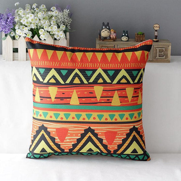 Colorful Decorative Pillow - pillowcase