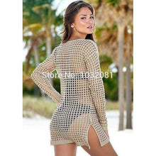 Load image into Gallery viewer, Crochet Cover-Up - Beach Cover-Up