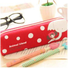 Load image into Gallery viewer, Cute Canvas Pencil Case - Elephant - Pencil Case