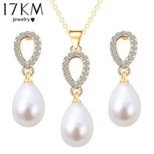 Load image into Gallery viewer, Cute Pearl Jewelry Set - Jewelry set