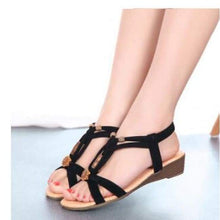 Load image into Gallery viewer, Elegant Leather Sandals - 2 / 5.5 - Sandals
