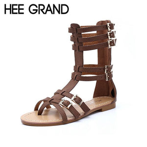 Fashion Gladiator Sandals - Sandals