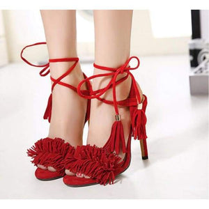 Fashion High Heels Sandals - Sandals