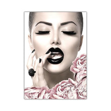 Load image into Gallery viewer, Fashion Makeup Canvas Poster Print - 10x15cm No Frame / CP173-1 - Wall Art
