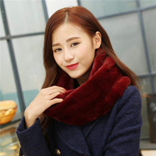 Load image into Gallery viewer, Fashion Winter Scarf - Red - Scarf