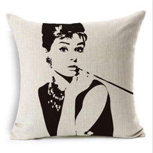 Load image into Gallery viewer, Film Starlet Throw Pillow - 11 / 45X45Cm - Pillowcase