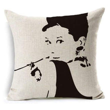 Load image into Gallery viewer, Film Starlet Throw Pillow - 12 / 45X45Cm - Pillowcase