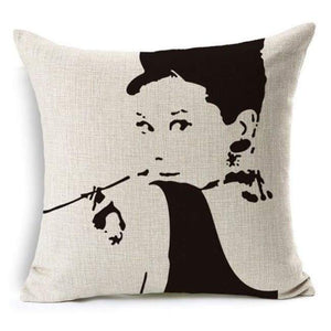 Film Starlet Throw Pillow - 12 / 45X45Cm - Pillowcase