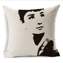 Load image into Gallery viewer, Film Starlet Throw Pillow - 13 / 45X45Cm - Pillowcase