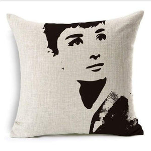 Film Starlet Throw Pillow - 13 / 45X45Cm - Pillowcase
