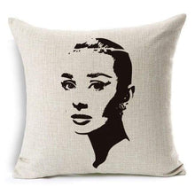 Load image into Gallery viewer, Film Starlet Throw Pillow - 14 / 45X45Cm - Pillowcase