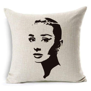 Film Starlet Throw Pillow - 14 / 45X45Cm - Pillowcase
