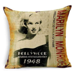 Film Starlet Throw Pillow - 3 / 45X45Cm - Pillowcase