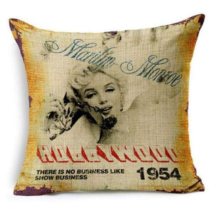 Film Starlet Throw Pillow - 4 / 45X45Cm - Pillowcase