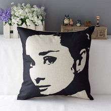 Load image into Gallery viewer, Film Starlet Throw Pillow - 7 / 45X45Cm - Pillowcase