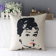 Load image into Gallery viewer, Film Starlet Throw Pillow - 8 / 45X45Cm - Pillowcase
