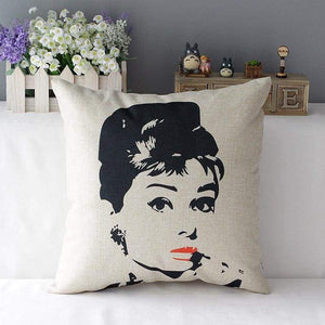 Film Starlet Throw Pillow - 8 / 45X45Cm - Pillowcase
