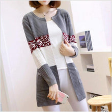 Load image into Gallery viewer, High Quality Knitted Sweater - Style1 Navy Blue / S - Cardigan