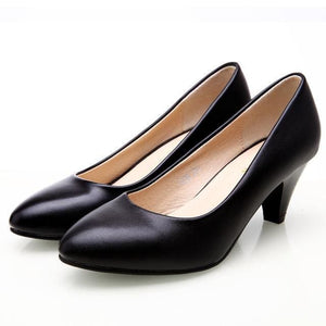 High Quality Office Shoes - Black / 4 - shoes