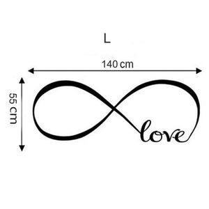 Infinite Love Art Wall Stickers - Wall Art
