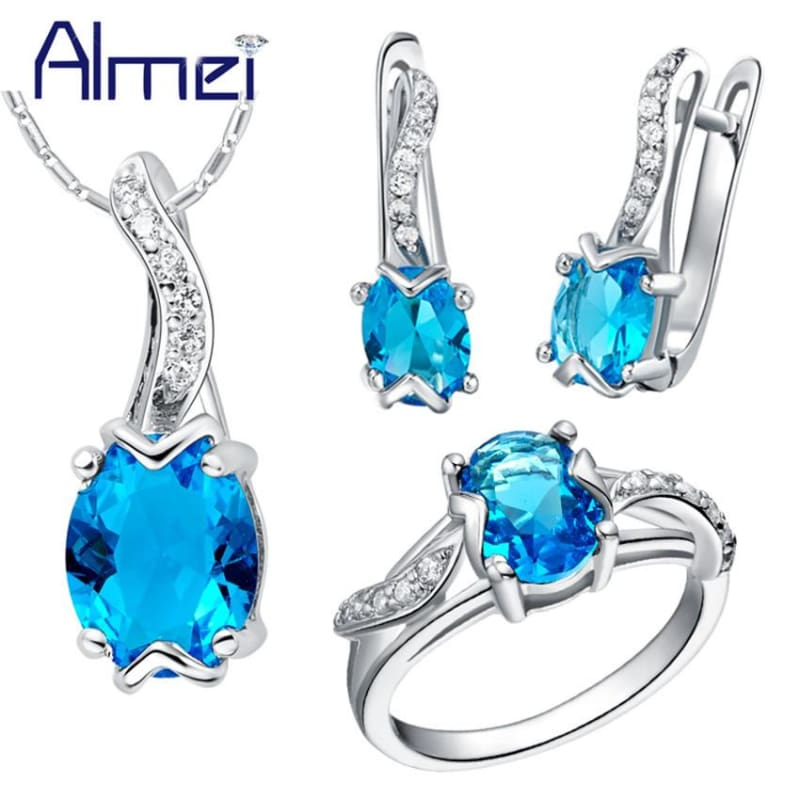 Jewelry Set 925 Sterling Silver - Jewelry set