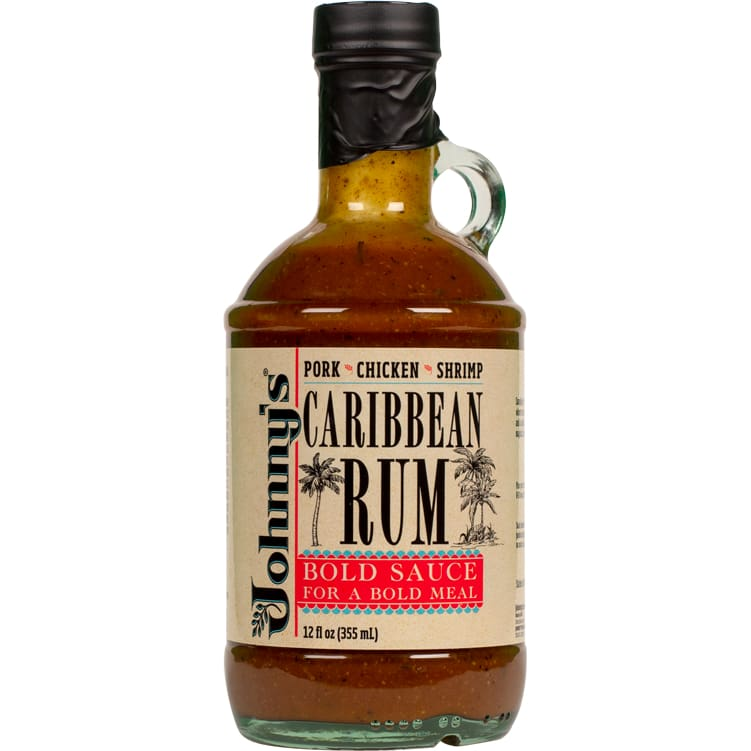 Johnny's Caribbean Rum Cooking Sauce 12 oz