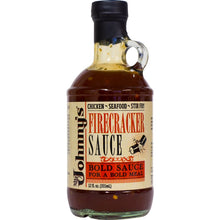 Load image into Gallery viewer, Johnny's Firecracker Sauce 12oz - Sauces