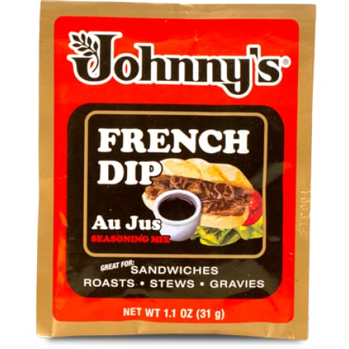 Johnny's French Dip Au Jus Seasoning Mix 1.1 Oz - Spices Seasonings & Extracts