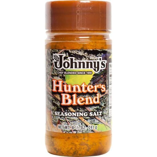 Johnnys Hunters Blend Seasoning Salt 8.5-Ounce - Spices Seasonings & Extracts