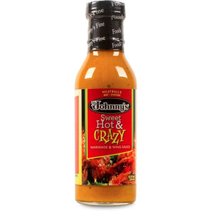 Johnnys Jamaica Me Sweet Hot & Crazy Dressing 12-ounce Bottle - Sauces