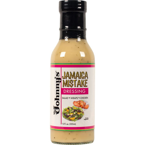 Johnnys Jamaica Mistake Dressing 12 oz - Marinades and Dressings