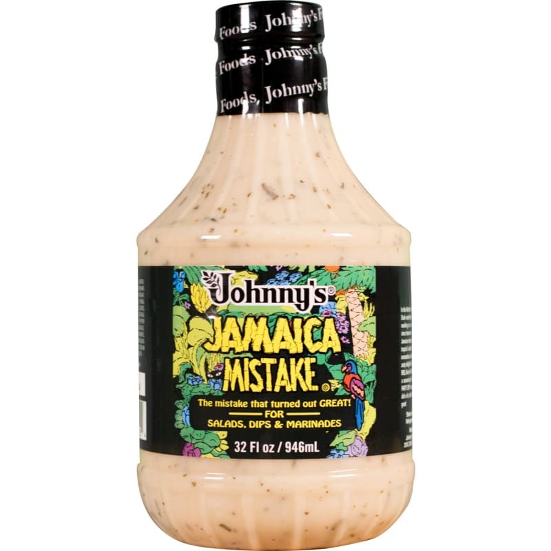 Johnnys Jamaica Mistake Dressing 32oz Bottle - Sauces