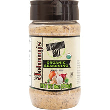 Load image into Gallery viewer, Johnny's Organic Seasoned Sea Salt 8oz - Spices Seasonings & Extracts