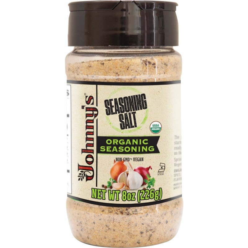 Johnny's Organic Seasoned Sea Salt 8oz - Spices Seasonings & Extracts