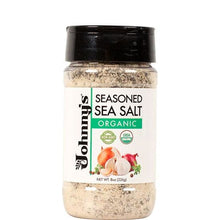 Load image into Gallery viewer, Johnnys Organic Seasoned Sea Salt 8oz - Spices Seasonings & Extracts