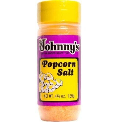 Johnnys Popcorn Salt 4.75 oz - Popcorn