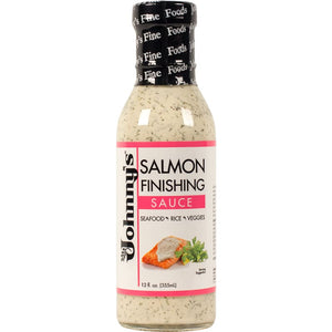Johnnys Salmon Finishing Sauce 12 Oz. - Marinades and Dressings